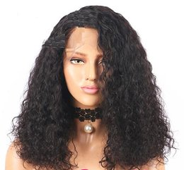 $enCountryForm.capitalKeyWord UK - Curly 360 Lace Frontal Wig Pre Plucked With Baby Hair 180% & 250% Density Short Human Hair Bob Wig lace front Brazilian Remy Hair Bob Wigs