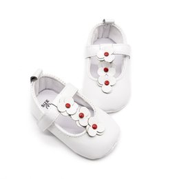 78229be661df New 0-18M Baby Girl First Walkers Lovely Soft Sole PU Princess Shoes  Newborn Infant Anti-slip Crib Shoes Toddler