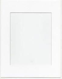 12pcs paquete 11x14 Color sólido Pre-corte Apertura Matboard para Picture Frame- Smooth White para fotos o arte 8x10 pulgadas