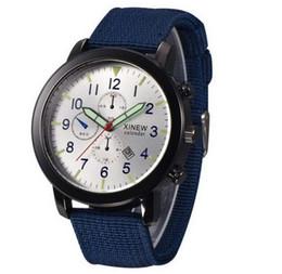 Red Nylon Watch Band NZ - New 2019 Quartz Watches Men 45mm Nylon Canvas Band Brand Designer Watch Casual Luxury Xmas gifts Male Wristwatch Online sale