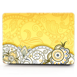 Macbook Retina 13 Inches Australia - FLOWER Oil painting Case for Apple Macbook Air 11 13 Pro Retina 12 13 15 inch Touch Bar 13 15 Laptop Cover Shell