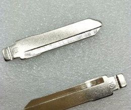 Chevy Wholesale Australia - 10Pcs lot Best Quality Uncut Replacement Car key blade for SUZUKI ALTO HAFEI ZHONGYI Key NO.10 Car Key Blade
