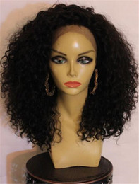 Full Lace Hair Cheap Australia - Full Lace Human Hair Wigs for Black Women Brazilian Virgin Hair Kinky Curly 8-26 inch Unprocessed Cheap 8A Glueless Full Lace Wigs