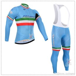 2017 pro team astana cycling long sleeve jersey Bicycle maillot Ropa  Ciclismo breathable autumn quick dry mtb bike clothes C3001 7fda7c246