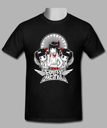 Baby Black Metal Australia - Cheap T Shirt Design Short Crew Neck Baby Metal Black Printed Mens Tee