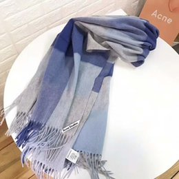 thick headbands 2018 - Brand designer scarf double-sided ladies luxury thick blanket warm check with label comfortable soft cashmere blanket ch