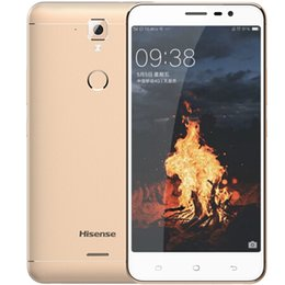 "Discount android 4g mobile - Original Hisense Dolphin Plus F23 4G LTE Mobile Phone 3GB RAM 32GB ROM Snapdragon 425 Quad Core 5.5"" 13.0MP Fingerp"