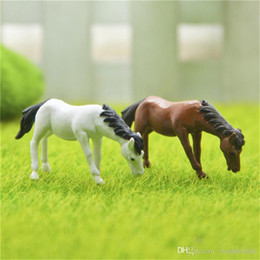 $enCountryForm.capitalKeyWord Canada - 2PCs set Horse family pack Simulation model Animals kids toys Mini Gnomes Moss Terrariums Figurines Decoration DIY