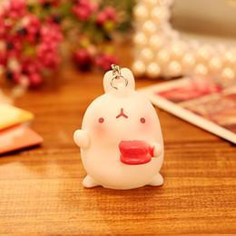 $enCountryForm.capitalKeyWord Canada - Korean cute potato rabbit car decoration, key chain bag small pendant, cartoon ornaments, can be a small toy, easy to carry,cute,beautiful