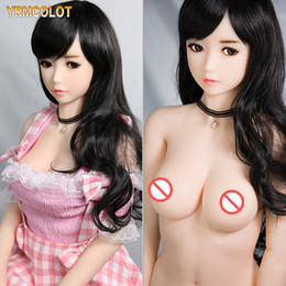 full solid sex skeleton dolls NZ - YRMCOLOT Top Quality Japanese Oral Anal Real Sex Doll, Full Body Size Real Solid Silicone Love Doll with Metal Skeleton