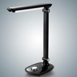 Dimming Light Switch Australia - Desk Lamp 42PCS LED Knob Switch 2000mAh USB Rechargeable Table Lamp Foldable Rotatable Eye Care Stepless Dimmer Reading Light