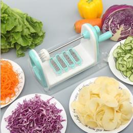 $enCountryForm.capitalKeyWord NZ - Roller Spiral Mandoline Slicer Manual Vegetable Cutter Potato Julienne Carrot Grater Cheese Slicer Stainless Steel Kitchen Tool