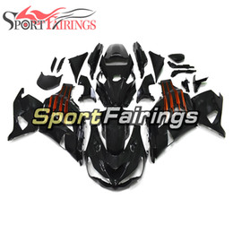 zx14 fairings NZ - Injection Complete Bodywork For Kawasaki Ninja ZX14R ZZR1400 2012 - 2015 12 13 14 15 Body Kit ABS Plastics Gloss Black Orange Fairings