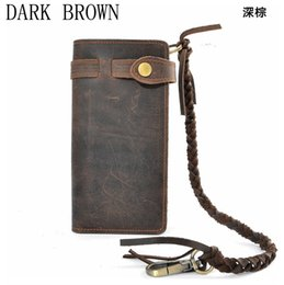 $enCountryForm.capitalKeyWord Canada - Cattle vintage crazy horse genuine leather handmade male long design wallet fashion male multi-layer day clutch bag 3377 19%