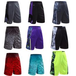 Air Pants Australia - Basketball shorts, sports shorts, men's summer air permeability, thin speed, dry running fitness pants loose big code five pants.