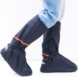 f3ab69e3287 Protector de lluvia Bota de motocicleta Ciclismo impermeable Botas de  lluvia antideslizantes Cubiertas reflectantes del calzado Use zapatos  Accesorios de ...