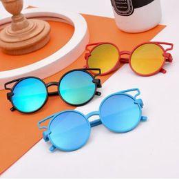 fashion cat cartoon 2019 - Children cartoon sunglasses fashion kids cute car ears eyeglasses girls round mirror beach sunblock boys cycling sun gla