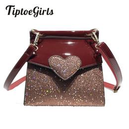 9bcc655651d0 Korean Version of the Spring Simple Bag Women s Fashion Wild Side Package  Leisure Heart-Shaped Shoulder Messenger Bag Tide