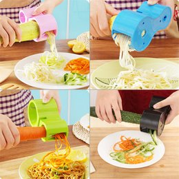 $enCountryForm.capitalKeyWord NZ - New Creative Multifunction Spiral Vegetable Slicers Double Grater Premium Noodle Cutter Zucchini Pasta Spaghetti Maker Knife Sharpener