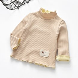 $enCountryForm.capitalKeyWord Canada - Girls autumn winter sweater children plus velvet thick fashion casual top for girls kids winter long collar sweater girl clothes