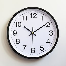 60979010e3b Antique wAll wAtches online shopping - Plastic Wall Clock Quartz Bedroom  Living Room Table Minimalism Watch