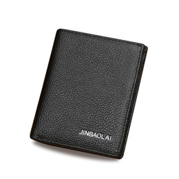 Licensed designs online shopping - New Fashion Casual Driver s License Men s Leather Wallet Color Designs Business Card Holders Pocket Wallets Multi Function Mini Wallets
