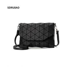 9c60207471 SDRUIAO Matte Designer Women Evening Bag Shoulder Bags Flap Handbag Fashion  Geometric BaoBao Casual Clutch Messenger Bags