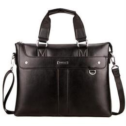 $enCountryForm.capitalKeyWord Canada - Men Casual Briefcase Business Shoulder Bag Leather Messenger Bags Computer Laptop Handbag Bag Men's Travel Bags free shipping