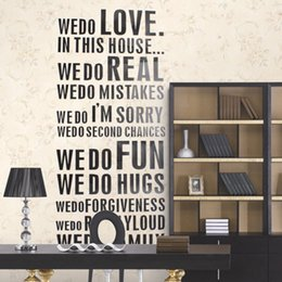 Love moment online shopping - New DIY Family Quotes Decal Live every moment Laugh every day Love beyond Wall Sticker