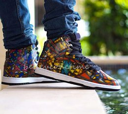 70bd1c008 CNCPTS x SB Dunk High PRM Stained Glass Mens Women Basketball Shoes What  The NYC Doernbecher Reigning Champ Trumpet Unkle Sports Sneakers