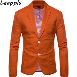 Smart Clothing NZ - leappls Blazers Men Fashion Smart casual masculino slim fit men clothes 2018 blazers and suit jackets veste costume homme new