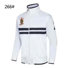 $enCountryForm.capitalKeyWord Canada - NEW Jackets Men Black White Autumn Winter Jogger Sporting Suit Mens Jackets #266