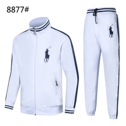 zips baseball 2019 - Explosive men's jacket handsome jacket high-end suit sports suit fashion embroidery pattern men's two-piece co