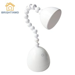 $enCountryForm.capitalKeyWord Australia - BRIGHTINWD LED Table Lamp Touch Intelligent Stepless Dimming USB Power Supply Student Eye Protection Bedroom Reading Light