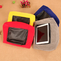 ipad tablet stands NZ - Multifunction Laptop Tablet Pillow PC Tablet Stand Holding Holder Stylish Cooling Pad Foam Pillow Lap Rest Cushion for Ipad