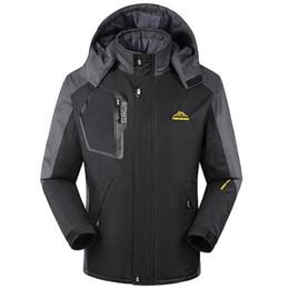 Mens Waterproof Winter Jackets NZ - Winter Clothes Mens Windbreaker Parkas  Plus Velvet Padded Jacket Keep 5122b3358
