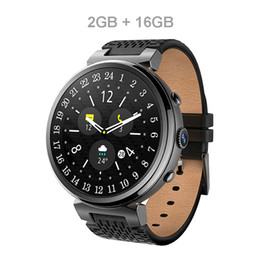 3g Gps Smart Watch NZ - I6 Smart Watch 2MP Camera 2GB 16GB MTK6580 Android 5.1 Bluetooth GPS WiFi 3G Smartwatch Phone For Android&IOS