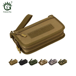 Multi Color Hand Bag Australia - Protector Plus Tactical Camouflage Wallet Horizontal Hand Bag Mobile Phone Pouch