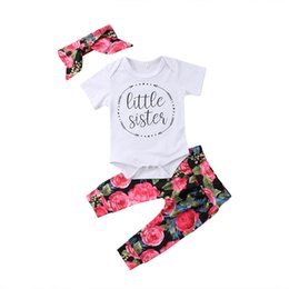 Pudcoco 2018 New Tollder Kid Baby Clothing Newborn Girl Clothes Romper Shirt Top+pants Leggings Outfits Set Casual Simple Cx Mother & Kids Girls' Baby Clothing