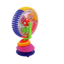 Toy wheels online shopping - Intelligence Toy Msf Pigtoys Three Colors Revolving Ferris Wheel Baby Originality Learning Education Toys With Sucker fl W