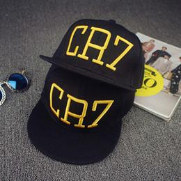 793b1fe8fd6 Cristiano Ronaldo Cr7 Baseball Cap NZ - Newest Style Cristiano Ronaldo CR7  Hats Baseball Caps Hip
