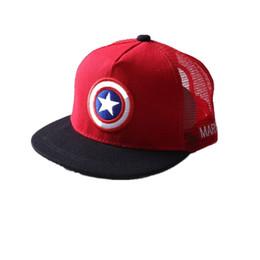 64943987f32 Kids Mesh Baseball Caps UK - Summer Childrens Baseball Cap Boys Girls  Cartoon Snapback Adjustable Kids Hip