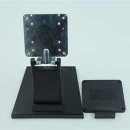 Lcd monitor mounting online shopping - Computer LCD Monitor Desktop Stand Mount Brackets for Universal inch Folded VESA Bracket PC Mount LCD Stand