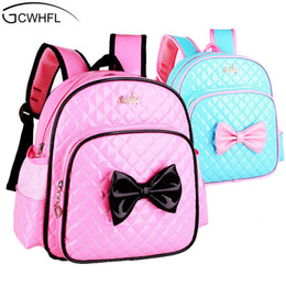 kid backpacks pink purple Canada - 2-7 Years Girls Kindergarten Children Schoolbag Princess Pink Cartoon Backpack Baby Girls School Bags Kids Satchel Baby Backpack