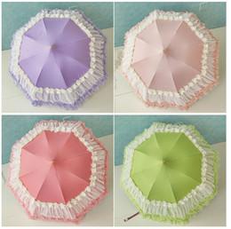 $enCountryForm.capitalKeyWord NZ - Spot direct marketing creative color Princess lace pagoda umbrella, bride sunscreen umbrella, anti ultraviolet sun umbrella.