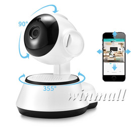 wholesale home security camera UK - Pan Tilt Home Security Wireless Mini IP Camera Surveillance Camera Wifi 720P Night Vision CCTV Camera Baby Monitor