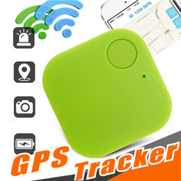Mini Wireless Bluetooth 4.0 GPS Tracker Anti-lost Trackers Alarm iTag Key Finder Voice Recording Smart Finder For ios Android Smartphone on Sale