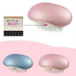 Rohs massageR online shopping - Portable Electric Ionic Hairbrush Mini Hair Brush Comb Massager Portable Electric Ionic Hair brush Takeout Mini Comb