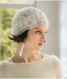 $enCountryForm.capitalKeyWord NZ - Winter Knitted Wool Warm Girls Hats Bonnet Gorros Veil Hat Woman Bridal Hats Beanie Chirstmas Gifts High Quality