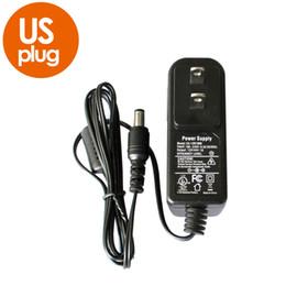 Опт 12V 1A AC 100V-240V Преобразователь-адаптер постоянного тока 12V 1A1000mA CE UL стандартный источник питания ЕС ВЕЛИКОБРИТАНИЯ AU США Plug 5.5 мм х 2.1 мм для камеры видеонаблюдения